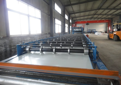 Equipment-CORRUGATED SHEET FORMING MACHINE