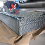 Galvanized Corrugated Metal Roofing Sheets-Packing1