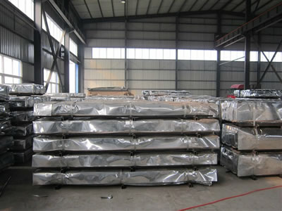 Galvanized Corrugated Metal Roofing Sheets Qingdao