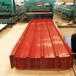 Galvanized Corrugated Metal Roofing Sheets-process4